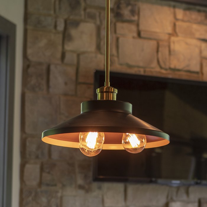 Winkel 3 Light Single Dome Pendant For Mueller 1 Light Single Dome Pendants (View 20 of 25)