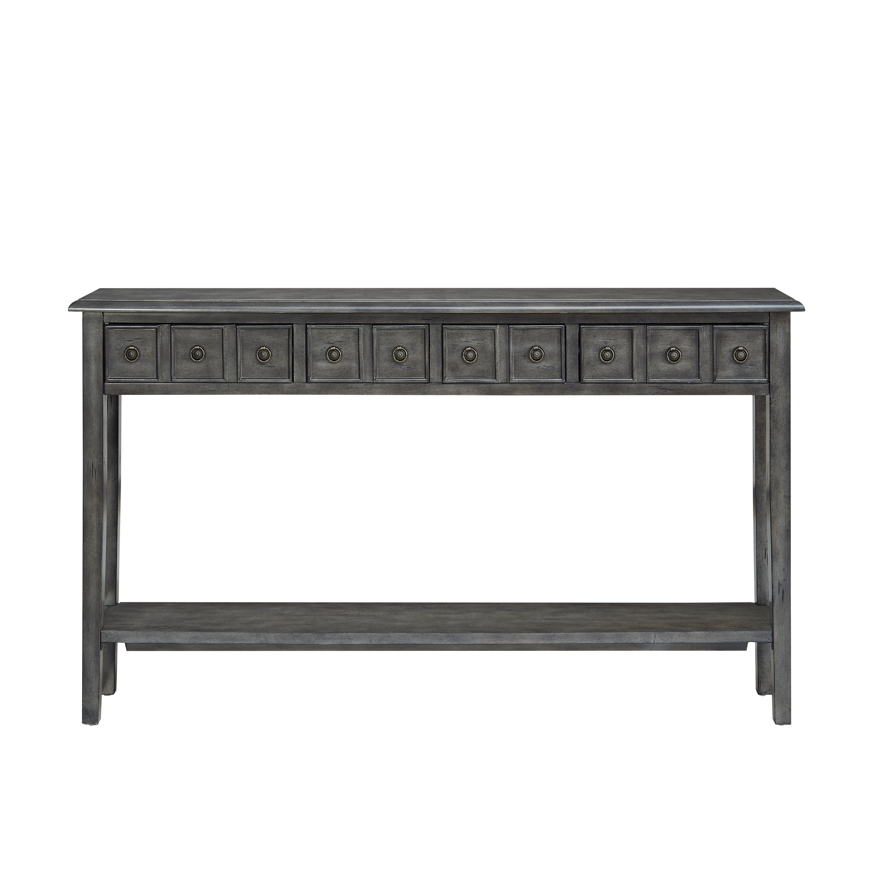 Witney Console Table With Regard To Diamondville Modern & Contemporary Distressed Accent Mirrors (Photo 10 of 20)