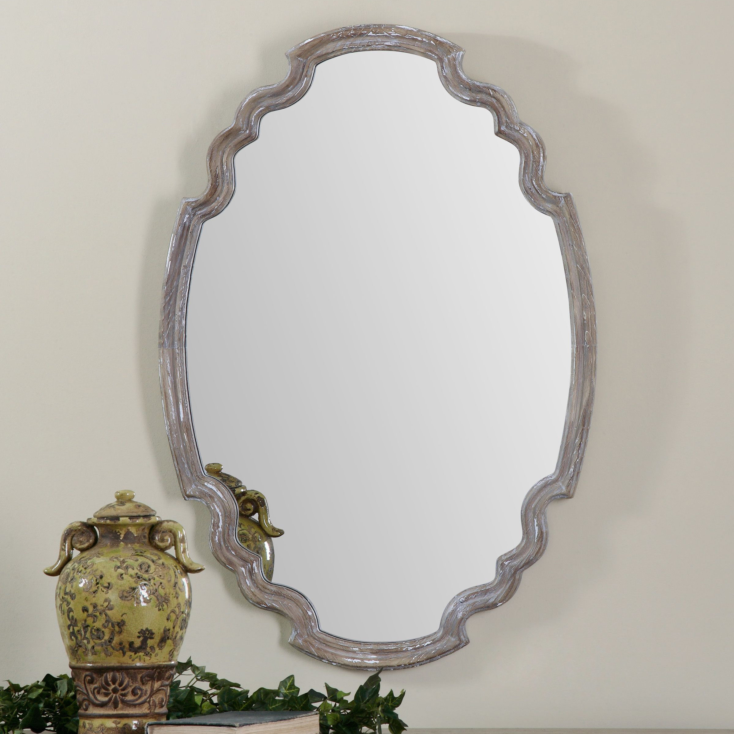 Wood Accent Mirror & Reviews | Joss & Main With Regard To Wood Accent Mirrors (View 2 of 20)