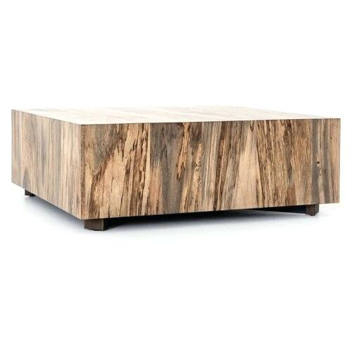Wood Square Coffee Table – Thegiggles (View 17 of 25)
