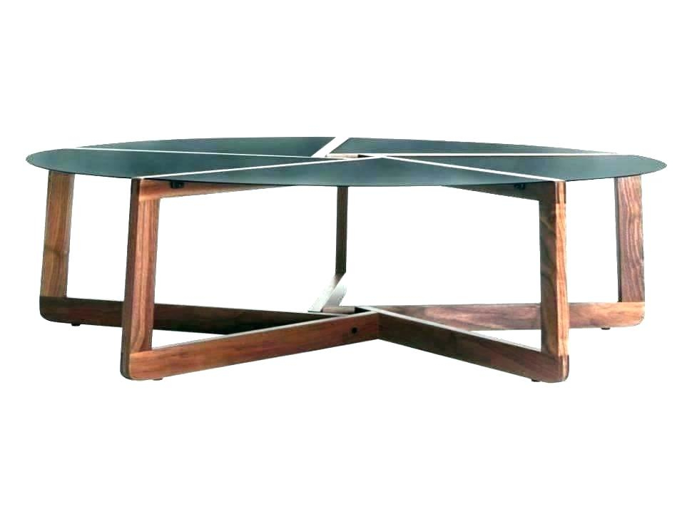 Wood Top Coffee Table Metal Legs – Floranceledwell (View 11 of 25)
