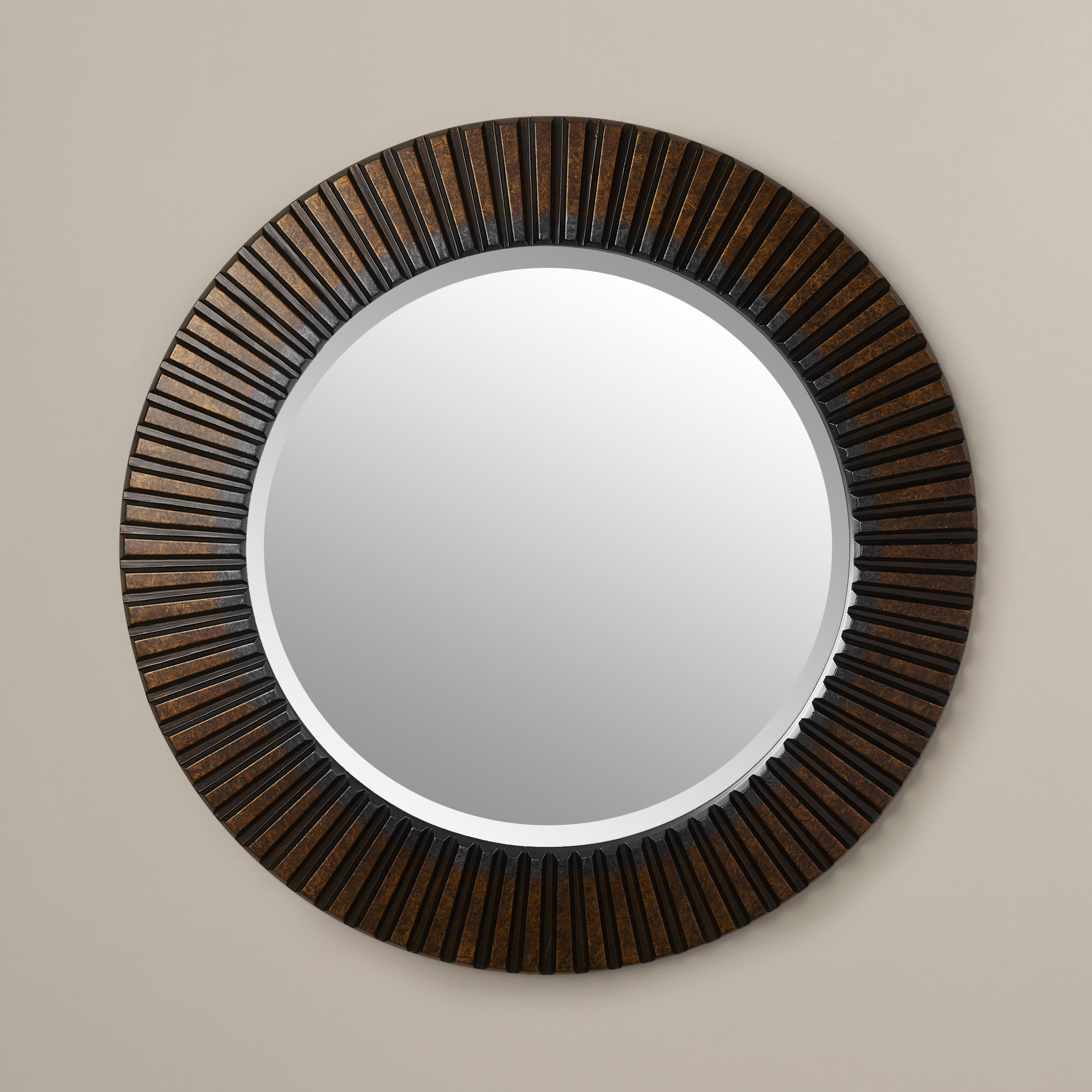World Menagerie Round Eclectic Accent Mirror Intended For Round Eclectic Accent Mirrors (Image 20 of 20)