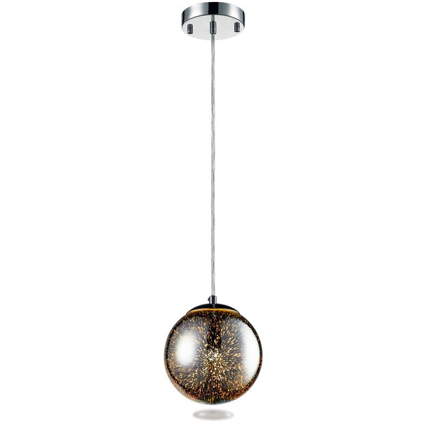 Worrell 1 Light Globe Pendantwrought Studio With 1 Light Globe Pendants (Image 22 of 25)