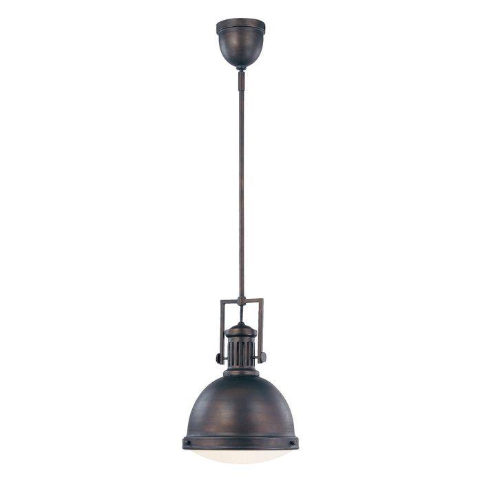 Featured Image of Hamilton 1 Light Single Dome Pendants