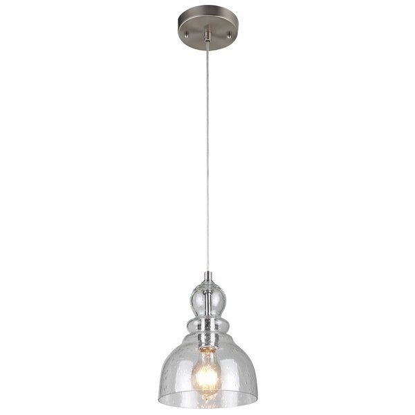 Yarger 1 Light Bell Pendant | Kitchen | Glass Pendant Light Inside Yarger 1 Light Single Bell Pendants (View 2 of 25)
