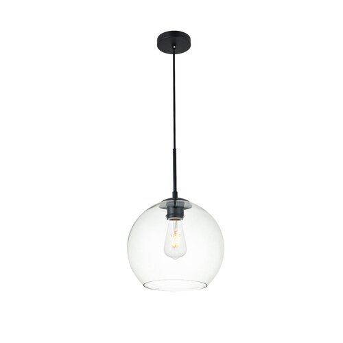 Yearwood 1 Light Globe Pendant In 2019 | Kitchen | Globe Regarding 1 Light Globe Pendants (Image 24 of 25)