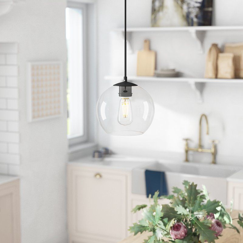 Yearwood 1 Light Single Globe Pendant | Fixer Upper | Globe Pertaining To Bundy 1 Light Single Globe Pendants (View 23 of 25)