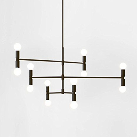 Yoka Modern Pendant Lighting Ceiling Chandelier Hanging Lamp For Sherri 6 Light Chandeliers (View 11 of 20)