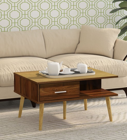Yoshiki Coffee Table In Columbia Walnut Finishmintwud Inside Solid Hardwood Rectangle Mid Century Modern Coffee Tables (View 35 of 50)