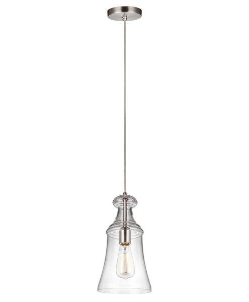 Zada 1 Light Bell Pendant In Kimsey 1 Light Teardrop Pendants (Photo 8 of 25)