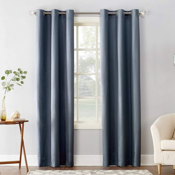 1 Panel Cooper Thermal Insulated Curtain With Regard To Valencia Cabana Stripe Indoor/outdoor Curtain Panels (Image 1 of 25)
