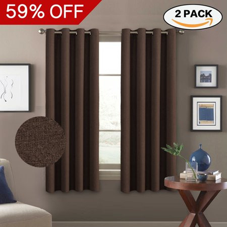 14 New Textured Grommet Drapes Photograph | All About Texture With Heavy Faux Linen Single Curtain Panels (Image 3 of 25)