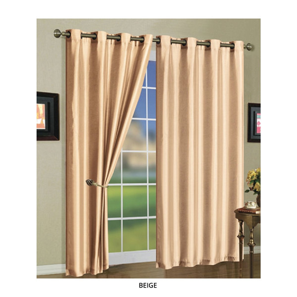 3 Pack: Mira Solid Grommet Curtain Panels – Assorted Colors With Regard To Grommet Curtain Panels (Photo 23 of 25)