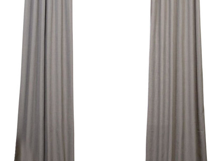 34 Grey Linen Curtains, 1000 Ideas About Gray Curtains On Intended For Heavy Faux Linen Single Curtain Panels (Image 4 of 25)