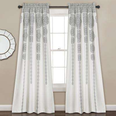 4 – Room Darkening Curtains – Curtains & Drapes – The Home Depot In Julia Striped Room Darkening Window Curtain Panel Pairs (Image 2 of 25)