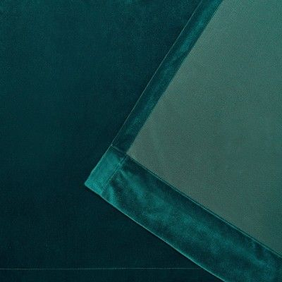 "54""x63"" Velvet Heavyweight Grommet Top Window Curtain Panel With Velvet Heavyweight Grommet Top Curtain Panel Pairs (Image 4 of 25)"