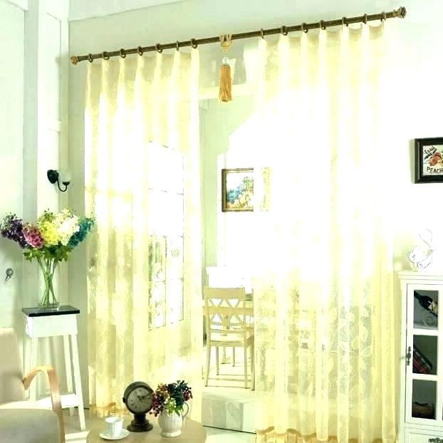 72 Inch Wide Curtains – Cered Gl Intended For Wavy Leaves Embroidered Sheer Extra Wide Grommet Curtain Panels (View 6 of 25)
