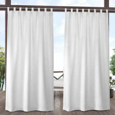 94.5 – 97.5 – Tab Top – Curtains & Drapes – Window In Elrene Jolie Tie Top Curtain Panels (Photo 5 of 25)
