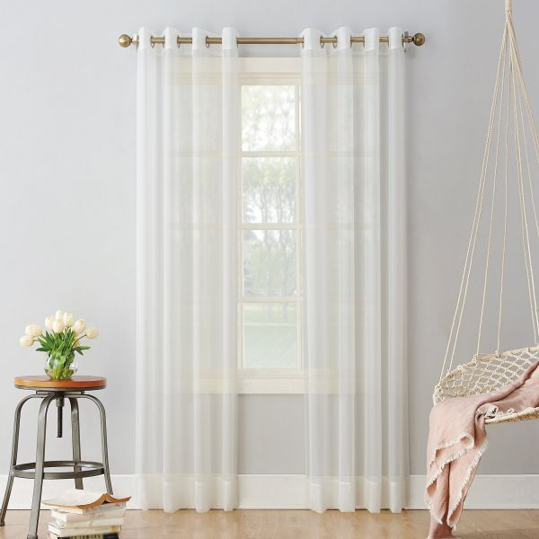95 White Curtains | Best Home Decorating Ideas For Archaeo Washed Cotton Twist Tab Single Curtain Panels (Photo 20 of 25)