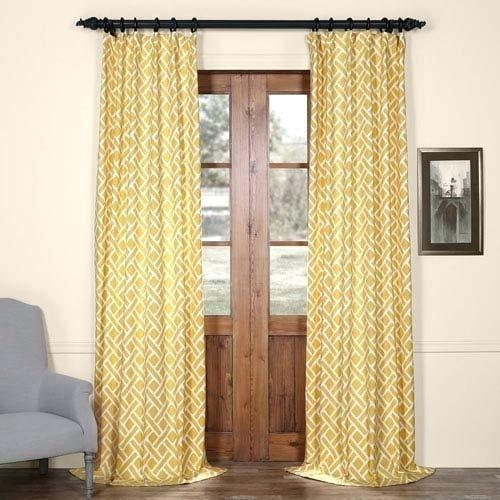 96 Curtain Panels – Visitsomnath Inside Mecca Printed Cotton Single Curtain Panels (Photo 15 of 25)