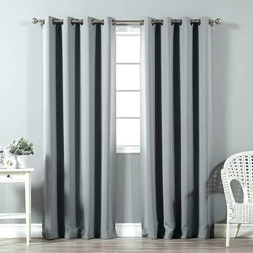 96 Curtain Panels – Weloveyew With Raw Silk Thermal Insulated Grommet Top Curtain Panel Pairs (Photo 13 of 25)