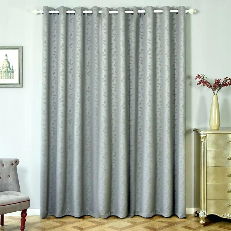 96 Inch Blackout Curtains Charcoal Grey 2 Packs Embossed X For Embossed Thermal Weaved Blackout Grommet Drapery Curtains (Photo 20 of 25)