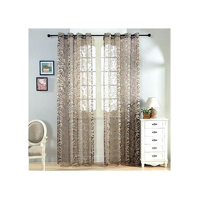 96 Inch Drop Curtains Intended For Lambrequin Boho Paisley Cotton Curtain Panels (Photo 3 of 25)
