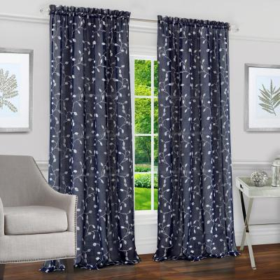 Achim Willow Toffee Polyester Rod Pocket Curtain – 42 In (View 16 of 25)