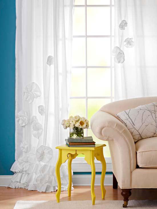 """Amazing Deal: Vue Priya Tab Top Window Curtain Panel, 50"""" X In Vue Elements Priya Tab Top Window Curtains (Image 7 of 25)"""