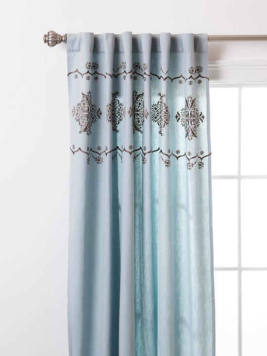 """Amazing Deal: Vue Priya Tab Top Window Curtain Panel, 50"""" X Inside Vue Elements Priya Tab Top Window Curtains (Image 8 of 25)"""