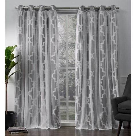 Ati Home Alegra Thermal Woven Blackout Grommet Top Curtain Pertaining To Woven Blackout Grommet Top Curtain Panel Pairs (Image 3 of 25)