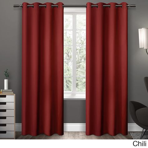 Featured Image of Sateen Twill Weave Insulated Blackout Window Curtain Panel Pairs