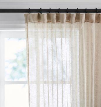 August Grove Harrietta Light Filtering Single Curtain Pane Within The Gray Barn Gila Curtain Panel Pairs (Image 3 of 25)