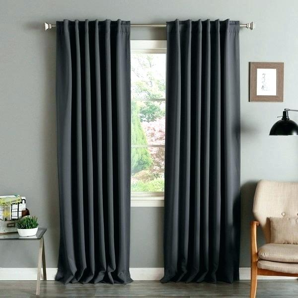 Aurora Home Curtains – Evb Nummer Intended For Star Punch Tulle Overlay Blackout Curtain Panel Pairs (View 25 of 25)