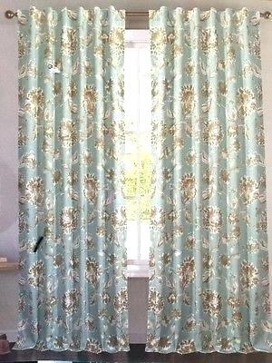 Aurora Home Thermal Insulated Blackout Grommet Top Curtain Regarding Thermal Insulated Blackout Grommet Top Curtain Panel Pairs (View 21 of 25)