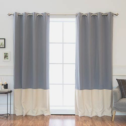 Beautiful Concept Color Block Curtains – Goods4Good (Image 2 of 25)
