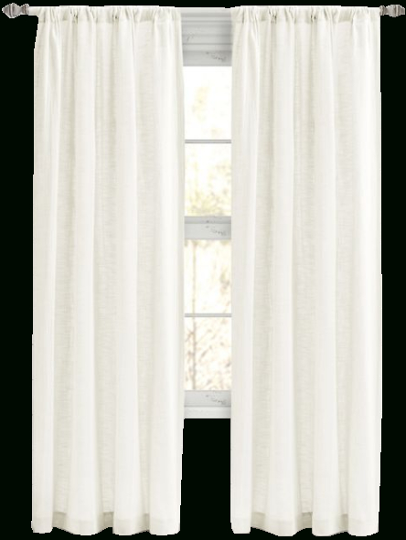 Bee & Willow™ Home Somerton 95 Inch Rod Pocket Window Curtain Panel In White For Willow Rod Pocket Window Curtain Panels (View 2 of 25)