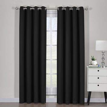 Best Curtain Panel Pairs Products On Wanelo Pertaining To Woven Blackout Grommet Top Curtain Panel Pairs (Image 5 of 25)