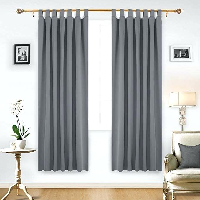Best Thermal Insulated Blackout Curtains Deconovo Grommet Intended For Thermal Insulated Blackout Curtain Pairs (View 24 of 25)