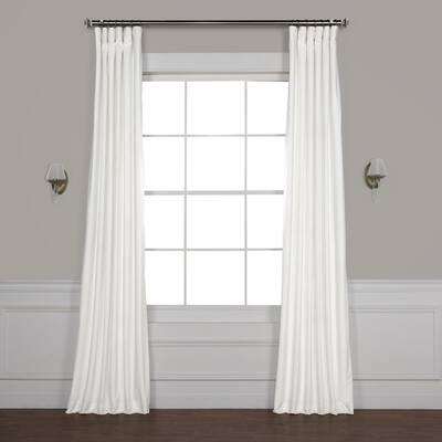 Caiden Curtain Rod Set Throughout Heritage Plush Velvet Single Curtain Panels (Image 2 of 25)
