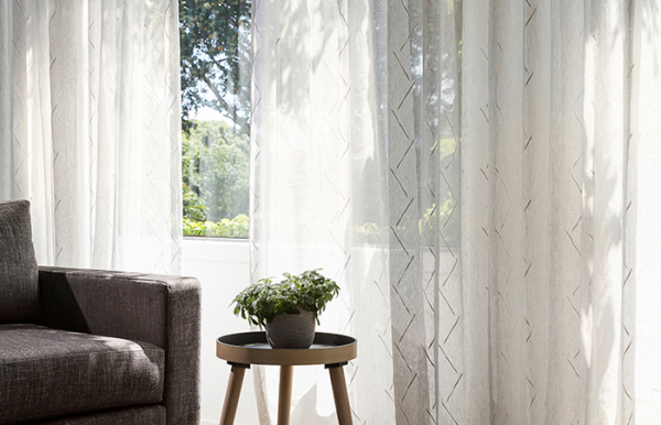 Choosing And Using Sheer Curtains » Russells Curtains & Blinds Regarding Double Layer Sheer White Single Curtain Panels (Image 9 of 25)