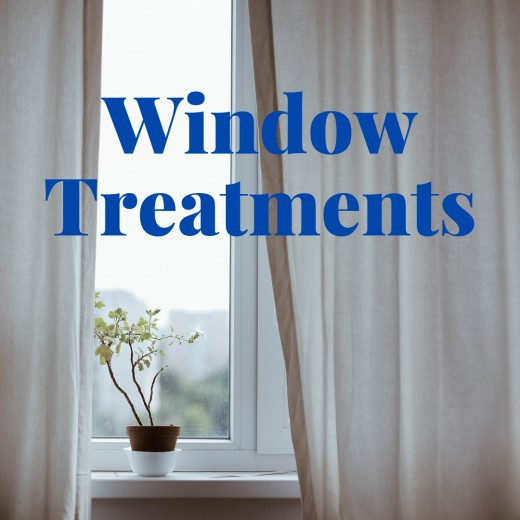 Common Drapery Terminology: Basic Window Treatments Inside Double Layer Sheer White Single Curtain Panels (Image 10 of 25)