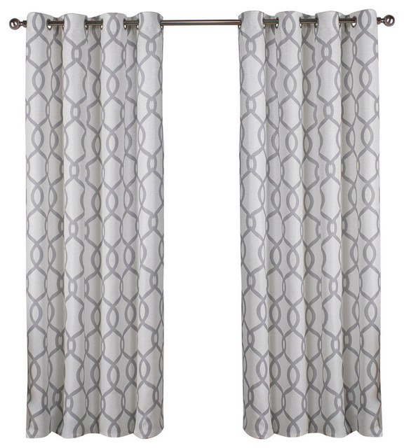 "Curtain Panel, Set Of 2, Dove Gray, 54""x63"" Inside Kochi Linen Blend Window Grommet Top Curtain Panel Pairs (View 21 of 25)"
