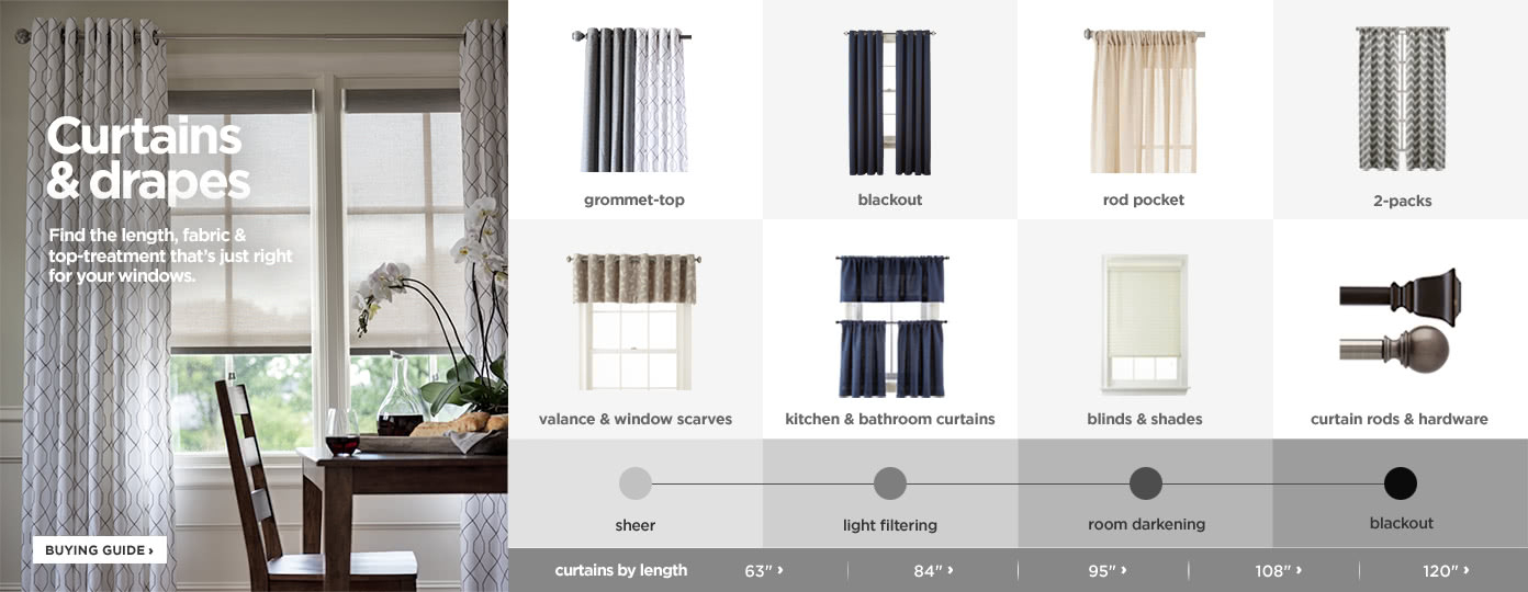 Curtains & Drapes | Window & Curtain Panels | Jcpenney With Regard To Linen Button Window Curtains Single Panel (View 19 of 25)
