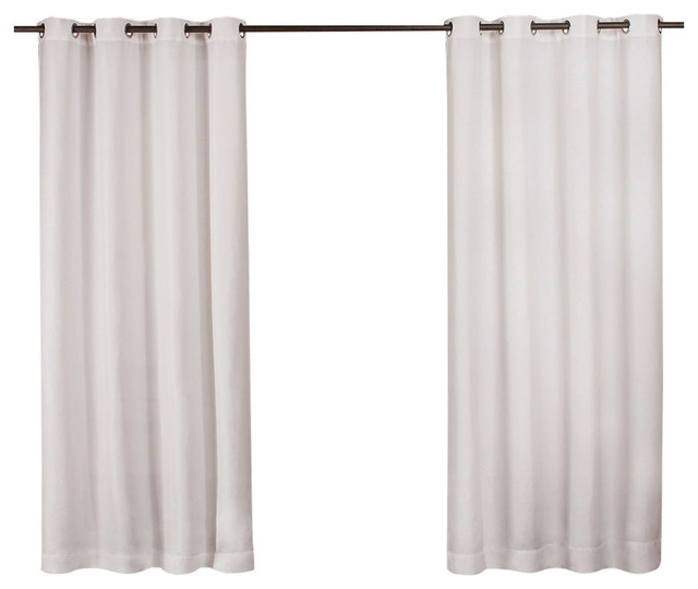 Featured Image of Delano Indoor/outdoor Grommet Top Curtain Panel Pairs