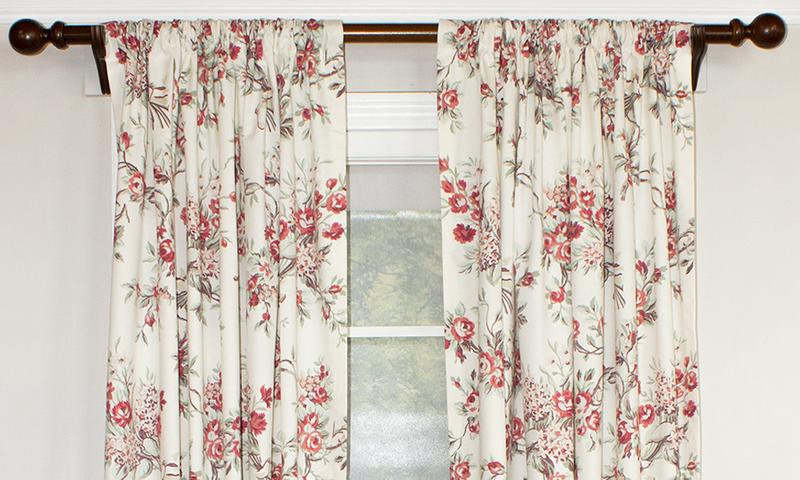 Dewillow Rod Pocket Single Panel – Outlet | Rlf Home Regarding Willow Rod Pocket Window Curtain Panels (View 25 of 25)