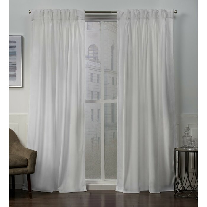 Featured Image of Double Pinch Pleat Top Curtain Panel Pairs