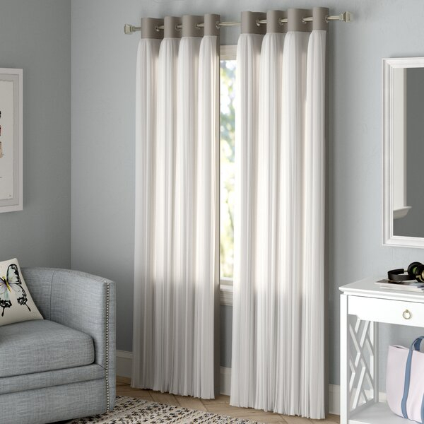 Double Sided Blackout Curtains | Wayfair Inside Davis Patio Grommet Top Single Curtain Panels (Image 9 of 25)