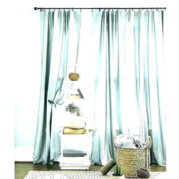 Dupioni Silk Curtains – Rasaco (Image 4 of 25)