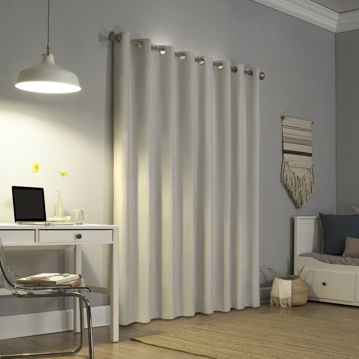 Featured Image of Duran Thermal Insulated Blackout Grommet Curtain Panels